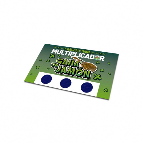 Special scratch off stickers