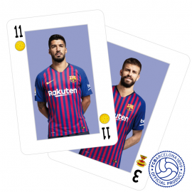 FC Barcelona Spanish playing cards