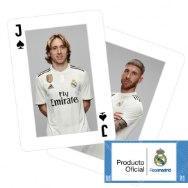 Real Madrid poker playing cards