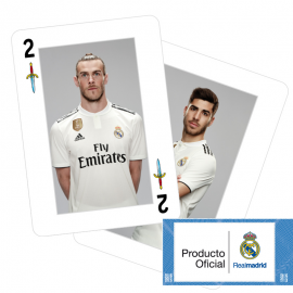 Real Madrid Spanish playing cards