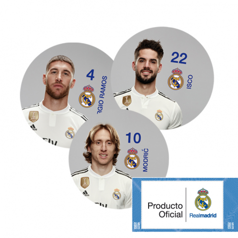Real Madrid tokens game