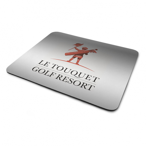Metallized mouse pads