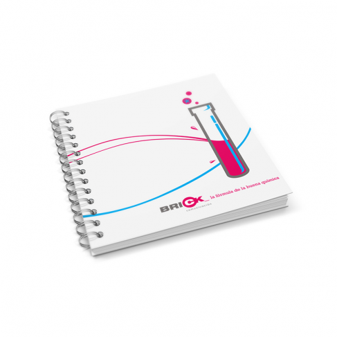 Notebooks with translucent cover